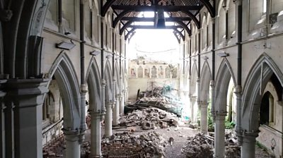 new-zealand:-fixing-the-ruined-christchurch-cathedral-that's-frozen-in-time