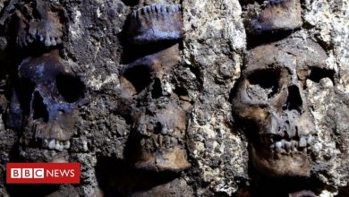 Photo of Aztec skull tower: Archaeologists unearth new sections in Mexico City
