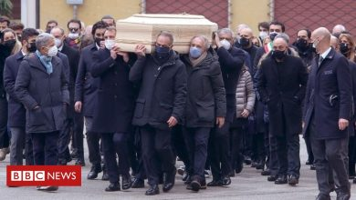 Photo of Paolo Rossi: Italian World Cup hero's home burgled during funeral