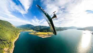Photo of Experiencing a lockdown world through hang gliding