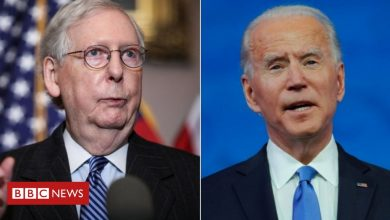 Photo of Mitch McConnell: Top Trump ally breaks silence to congratulate Biden