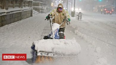 Photo of US snowstorm: Tens of millions on East Coast to be affected