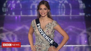 Photo of Miss France runner-up April Benayoum targeted by anti-Semitic tweets