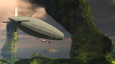 Photo of Gliding around the world in your own solar-powered airship… Keiser Report explores the future of air travel