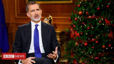 Photo of Spain's King Felipe VI makes veiled dig at self-exiled father