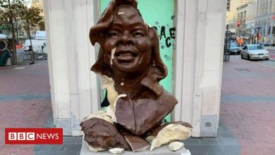 Photo of Breonna Taylor statue smashed in California weeks after installation