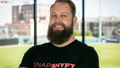 Photo of This is Thor Wood, Founder and CEO of SnapShyft