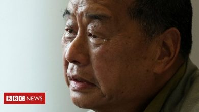 Photo of Hong Kong media tycoon Jimmy Lai ordered back to jail