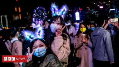 Photo of In pictures: New Year, but not quite as we know it