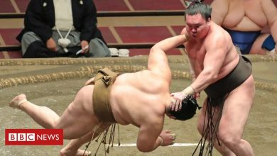 Photo of Covid: Japan's top sumo wrestler infected with coronavirus