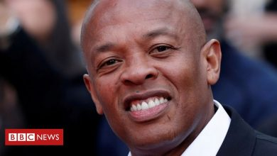 Photo of Dr Dre: Rap legend in hospital after brain aneurysm
