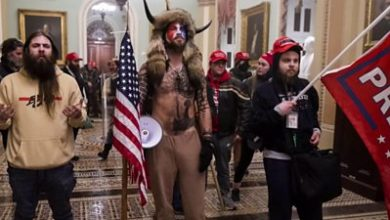 Photo of US Capitol riot: 'It was like a zombie movie'