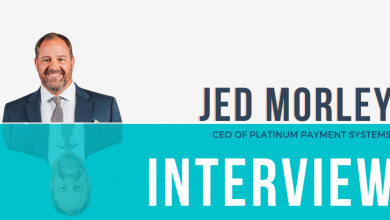 Photo of Interview with Jed Morley of Platinum Payment Systems on the Subject of Payment Processing & Business Growth Strategies