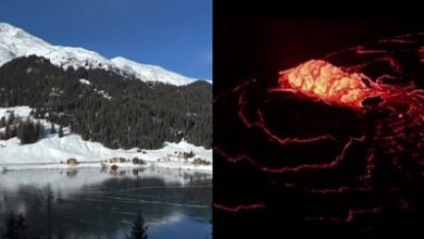 Photo of ICYMI: A 'singing' lake and a lava fountain
