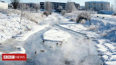 Photo of Central Spain records temperatures of -25C after snowstorm
