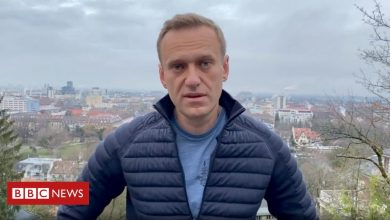 Photo of Russia Navalny: Poisoned opposition leader says he will fly home