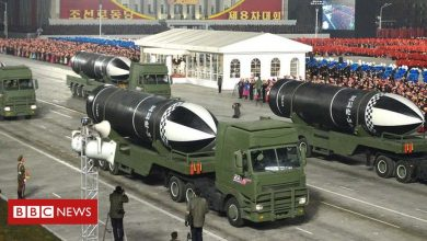 Photo of North Korea unveils new submarine-launched missile