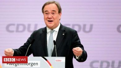 Photo of Armin Laschet elected leader of Merkel's CDU party
