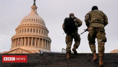 Photo of Biden inauguration: All 50 US states on alert for armed protests