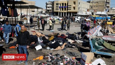 Photo of Iraq attack: Twin suicide bombings in central Baghdad kill 32
