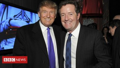 Photo of Trump 'prank-called by Piers Morgan impersonator'
