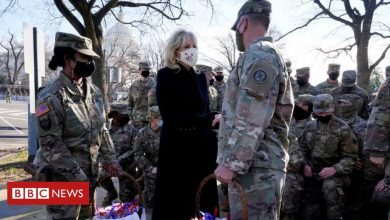 Photo of National Guard: President Biden apologises over troops sleeping in car park