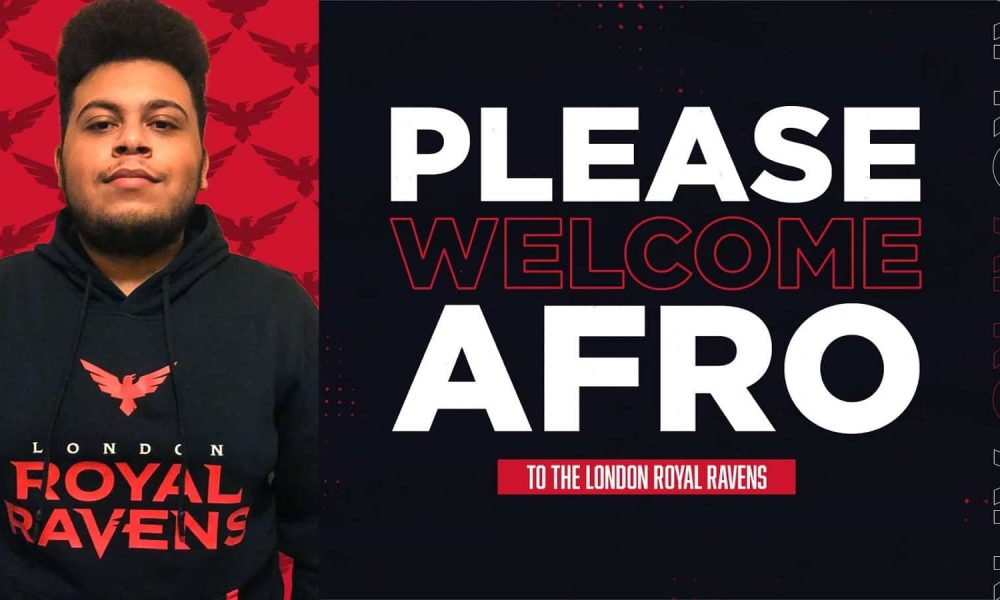cod:-afro-joins-london-royal-ravens-as-substitute