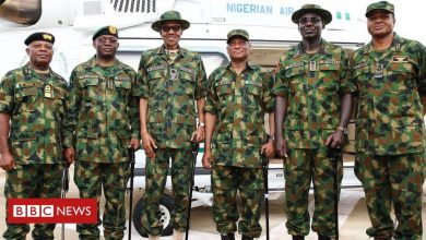Photo of Nigeria's President Buhari fires armed forces chiefs