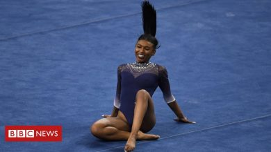 Photo of Nia Dennis: US gymnast's 'black excellence' routine goes viral