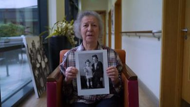 Photo of Holocaust Memorial Day: 'It's sad when I sit there alone'