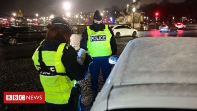 Photo of Paris police 'broke Covid curfew' at Macarena party