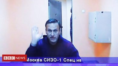 Photo of Navalny slams 'illegal' Russian case against him