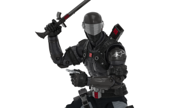 Photo of G.I. Joe's Fortnite collaboration includes a Snake Eyes skin and action figure
