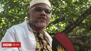 Photo of Nigerian separatist Nnamdi Kanu's Facebook account removed for hate speech