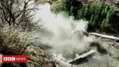 Photo of Uttarakhand glacier burst: Dozens missing after India dam collapses