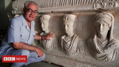 Photo of Syria 'finds body of archaeologist Khaled al-Asaad beheaded by IS'