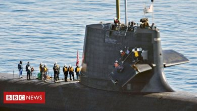 Photo of Japan: Submarine crew phone for help after crash