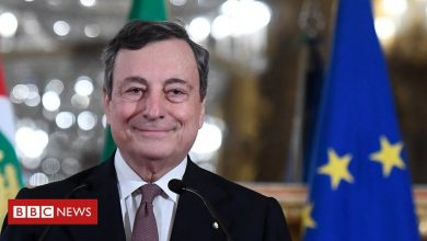 Photo of Mario Draghi sworn in as Italy's new prime minister