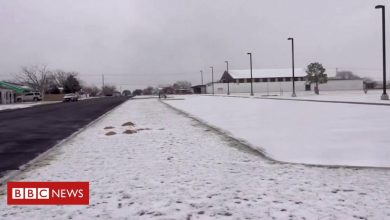 Photo of US cold snap: Why is Texas seeing Arctic temperatures?