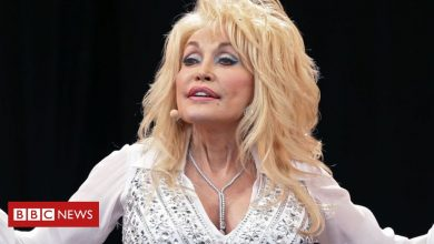 Photo of Dolly Parton asks for statue plans to go on hold
