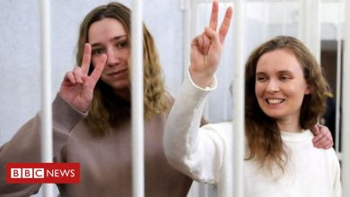 Photo of Belarus jails Belsat TV journalists for filming protest
