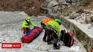Photo of Alps hiker survives seven icy nights after fall in Italy