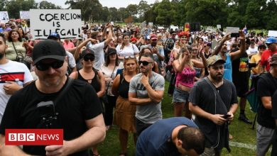 Photo of Covid: Anti-vaccination protests held in Australia ahead of rollout