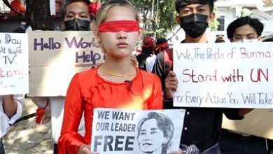 Photo of The art of protest in Myanmar – and its wanted list