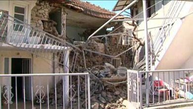Photo of Greece earthquake shakes shop and collapses buildings