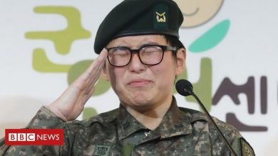 Photo of South Korea's first transgender soldier found dead