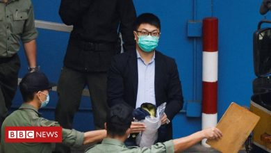Photo of Hong Kong activists: 15 of 47 granted bail but remain detained pending appeal