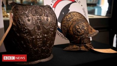 Photo of Louvre reunited with 'exceptional' armour stolen in 1983