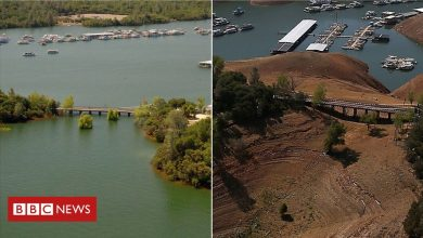 Photo of Then and now: A 'megadrought' in California