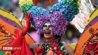 Photo of In pictures: Thousands attend LGBT Mardi Gras in Sydney